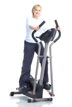 Woman-on-Elliptical-exercis